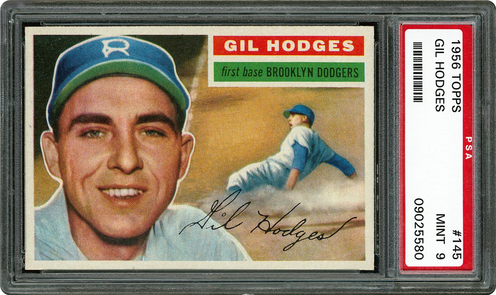 1956 Topps Gil Hodges Psa Cardfacts