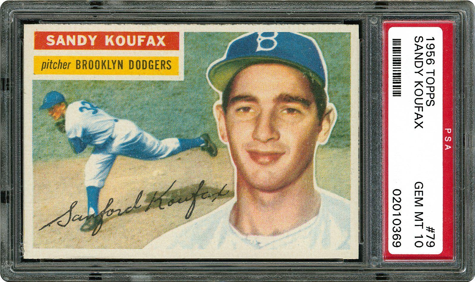 25636e14477 Sandy Koufax - 1956 Topps