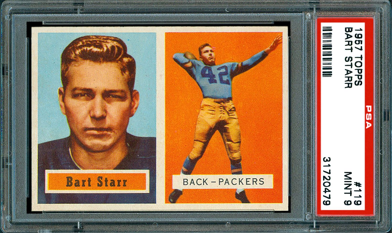 1957 Topps Bart Starr Psa Cardfacts