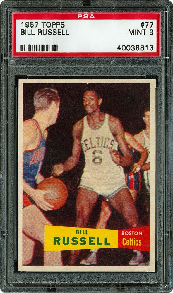 1957 Topps Bill Russell Psa Cardfacts