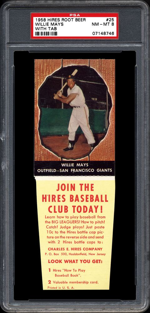 1958 Hires Root Beer Baseball Cards Psa Smr Price Guide