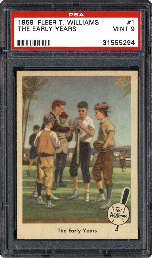 1959 Fleer Ted Williams Baseball Cards Psa Smr Price Guide