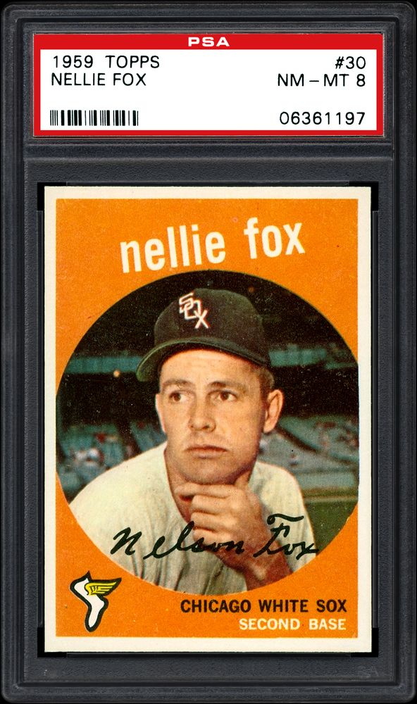 1959 Topps Nellie Fox Psa Cardfacts