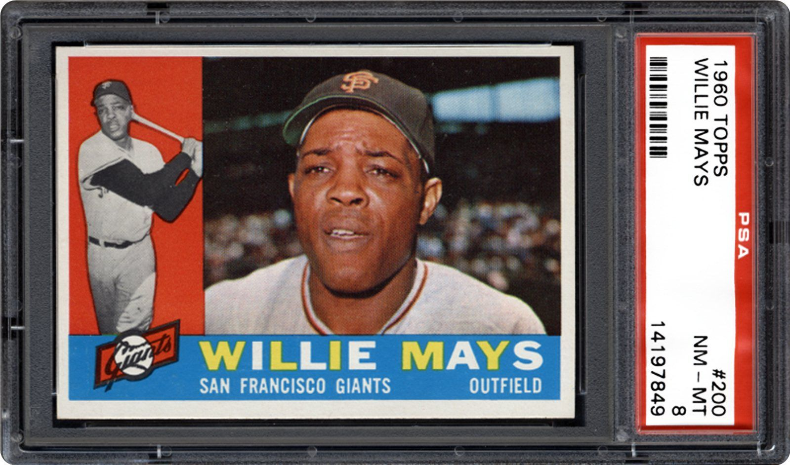 1960 Topps Willie Mays Psa Cardfacts