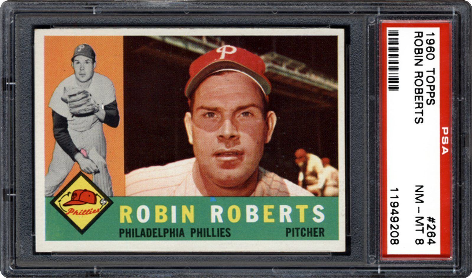 Auction Prices Realized Baseball Cards 1960 Topps Robin Roberts