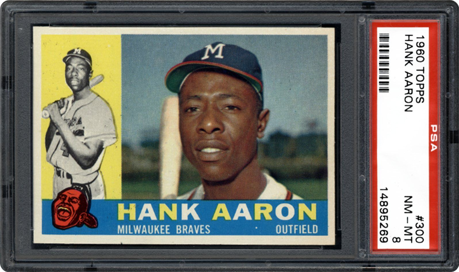 1960 Topps Hank Aaron Psa Cardfacts