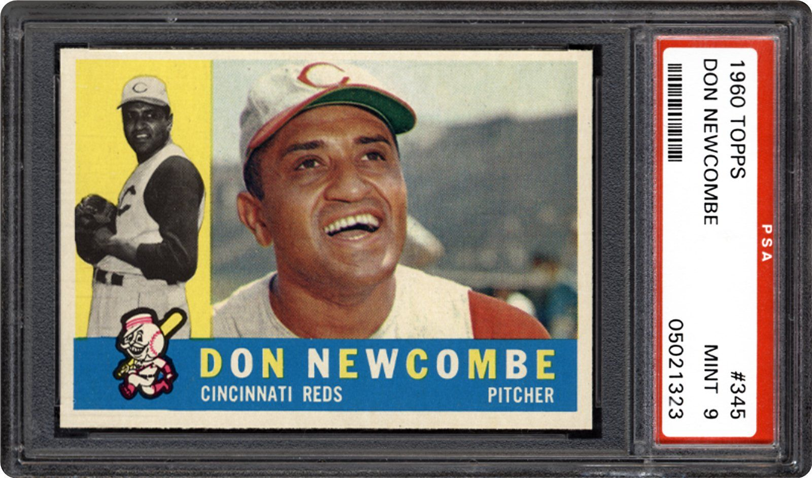 1960 Topps Don Newcombe Psa Cardfacts