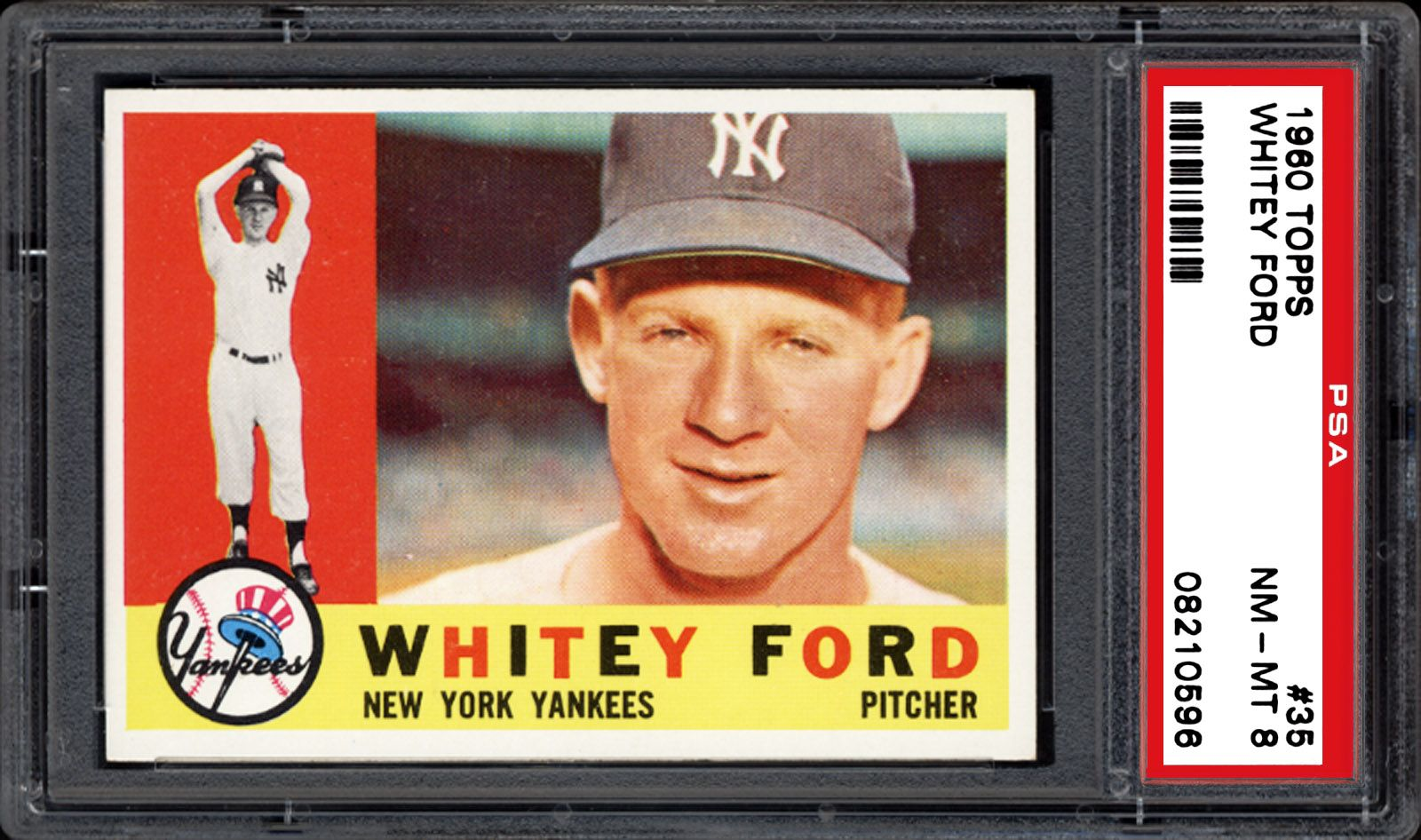1960 Topps Whitey Ford Psa Cardfacts