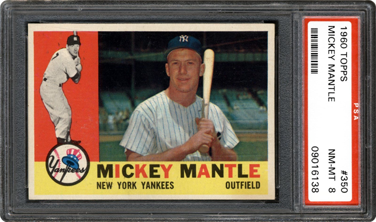 1960 Topps Mickey Mantle Psa Cardfacts