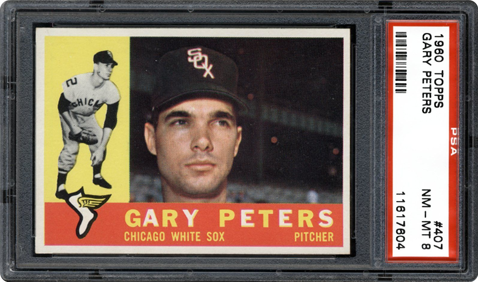 1960 Topps Gary Peters Psa Cardfacts
