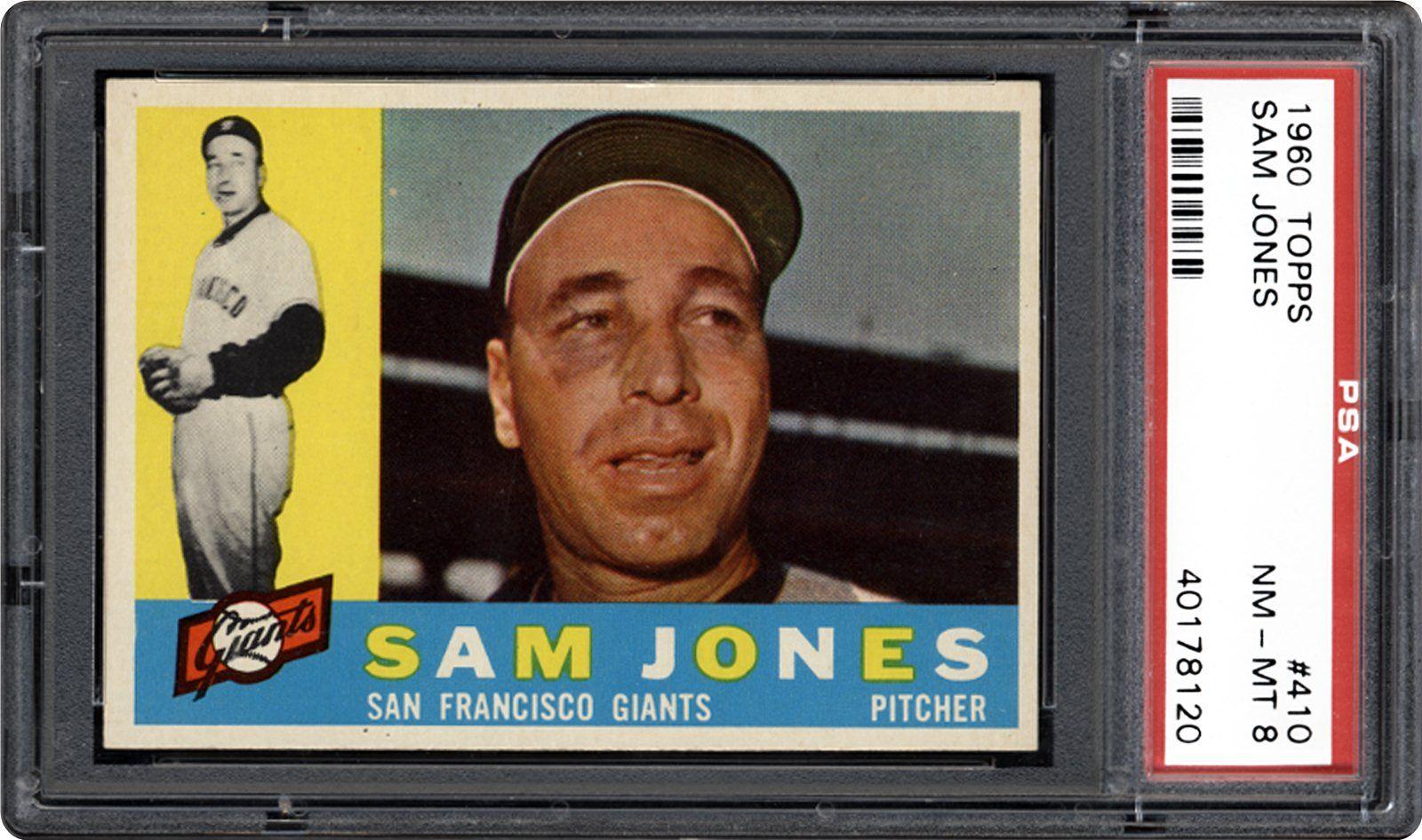 1960 Topps Sam Jones