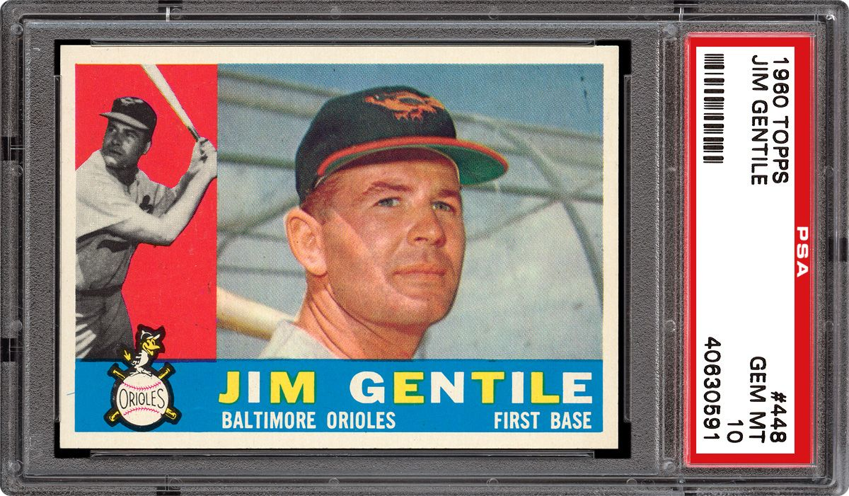 Baseball Cards 1960 Topps Psa Cardfacts