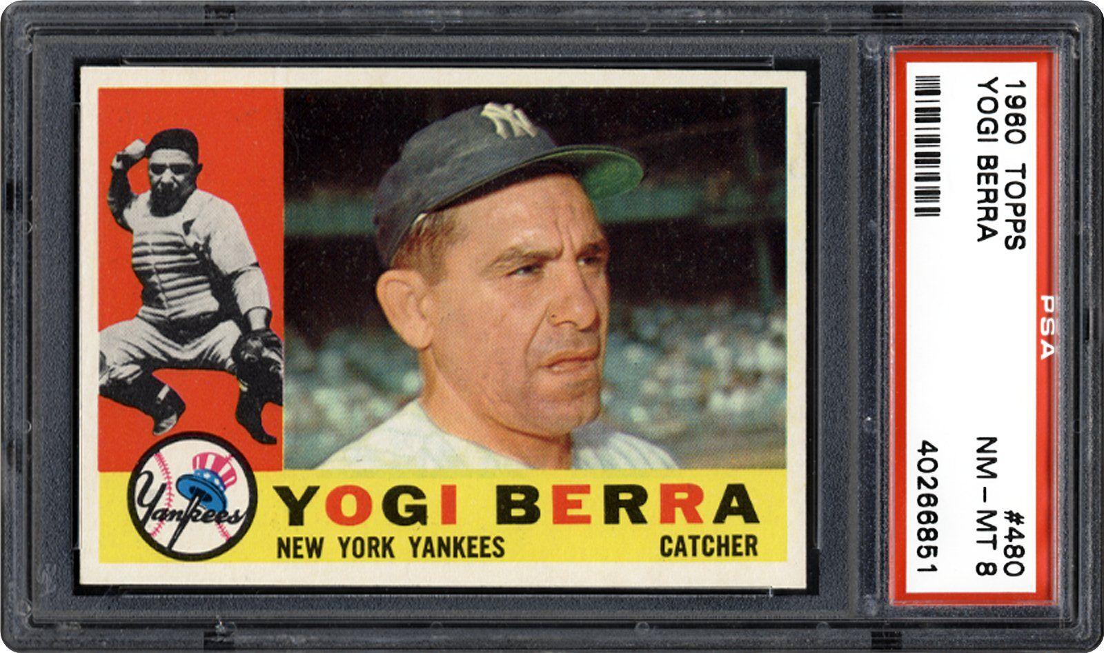 1960 Topps Yogi Berra Psa Cardfacts