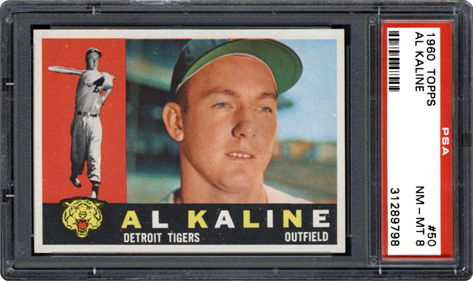 1960 Topps Al Kaline Psa Cardfacts