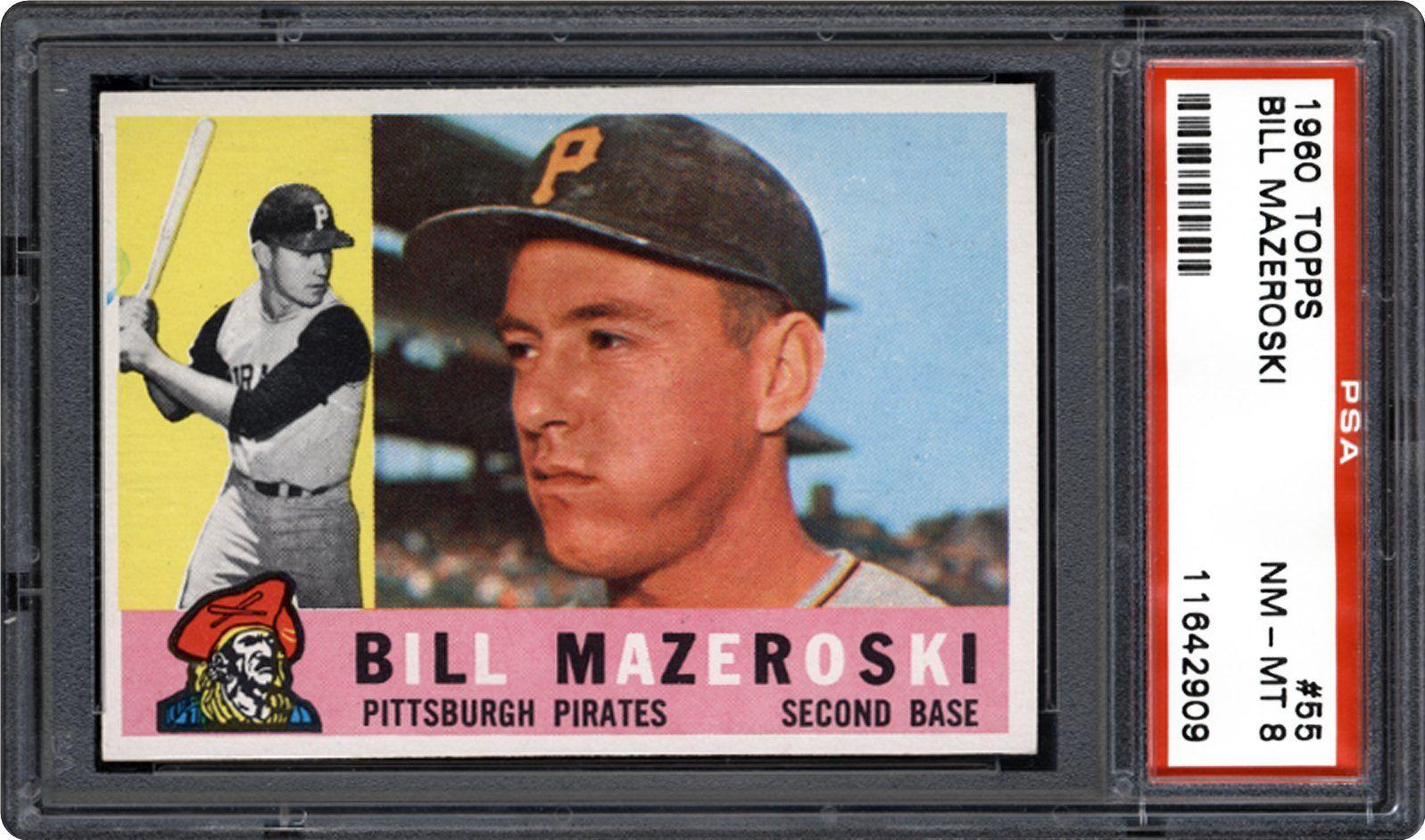 1960 Topps Bill Mazeroski Psa Cardfacts