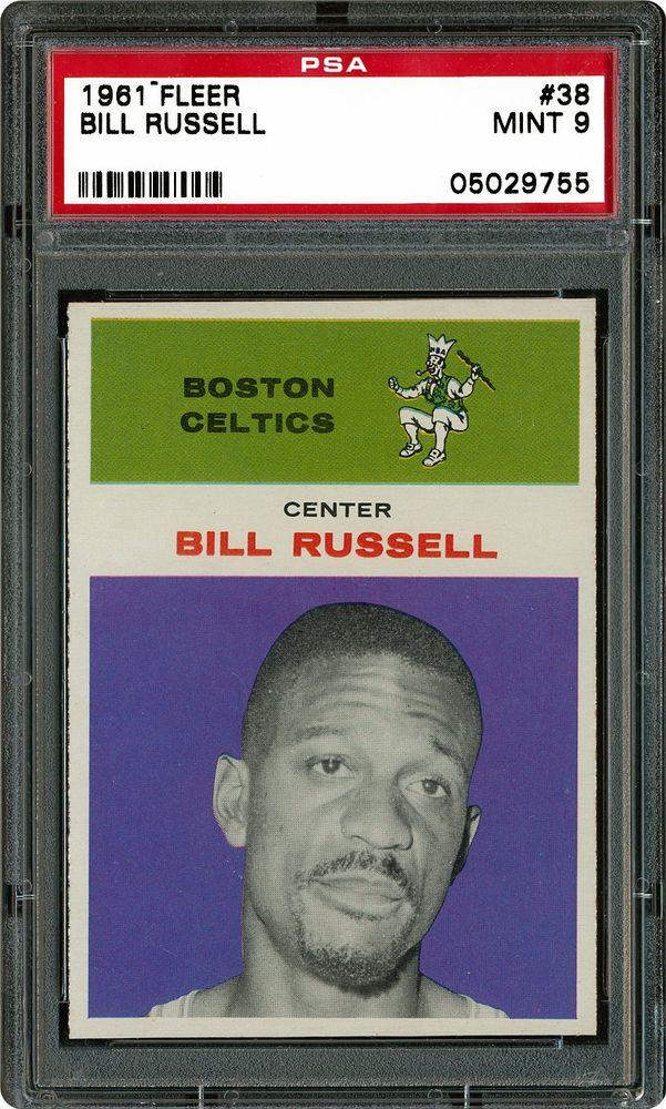 1961 Fleer Bill Russell Psa Cardfacts
