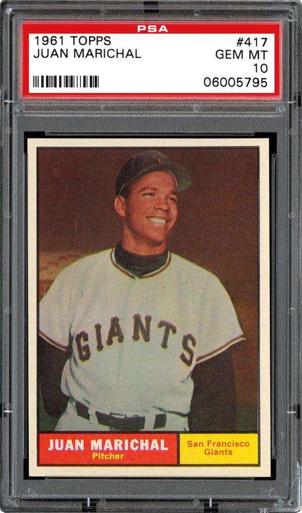 a6870135b12 1961 Topps Baseball Cards - PSA SMR Price Guide