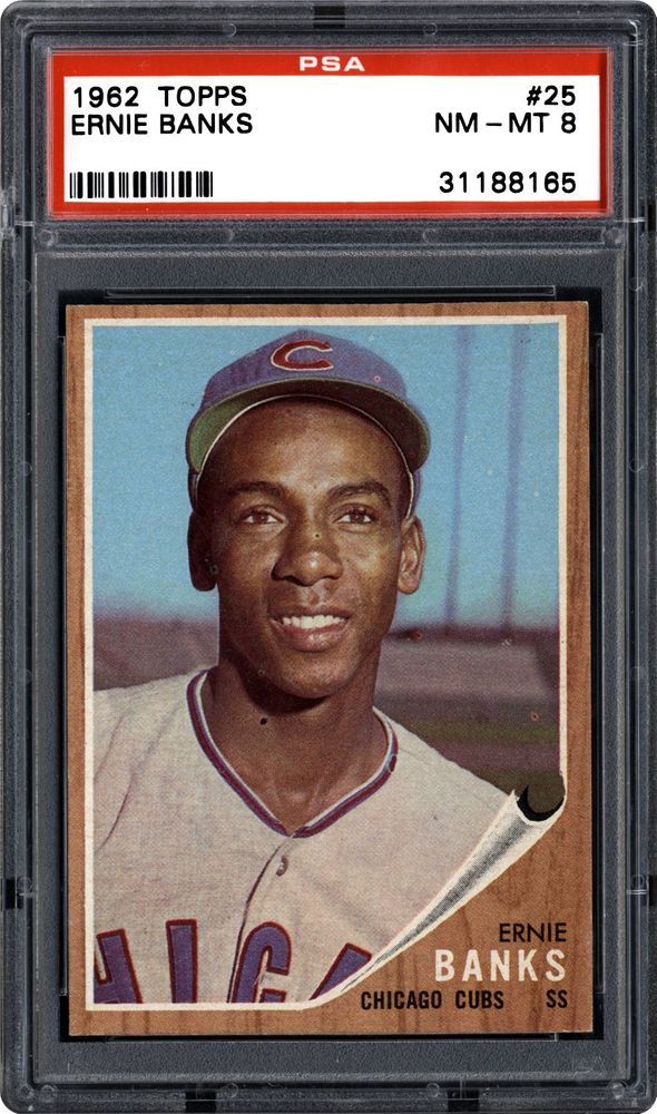1962 Topps Ernie Banks