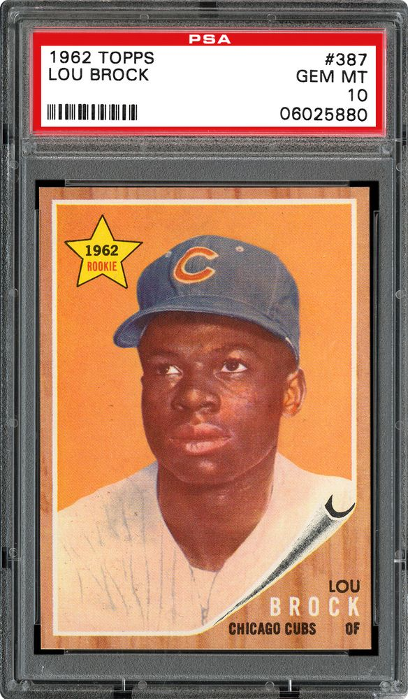 1962 Topps Baseball Cards Psa Smr Price Guide