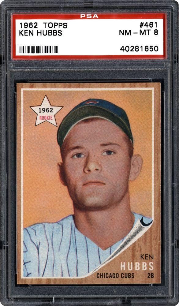 1962 Topps Ken Hubbs
