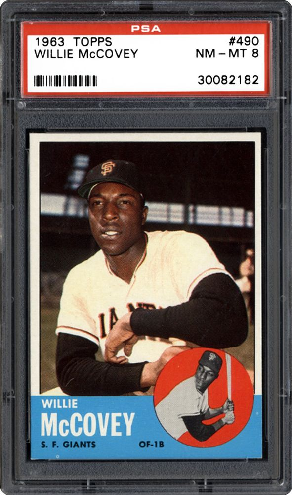 2010 Tarjetas Topps su Mom Threw Out #CMT128 1963 Topps Willie McCovey