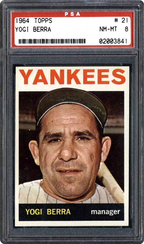 1964 Topps Yogi Berra Psa Cardfacts