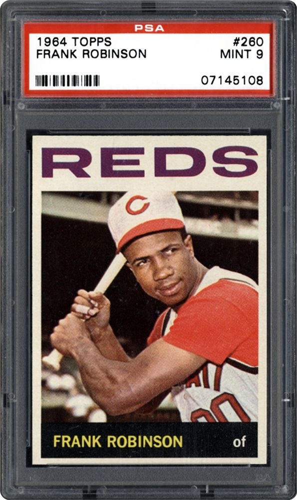 1964 Topps Frank Robinson Psa Cardfacts