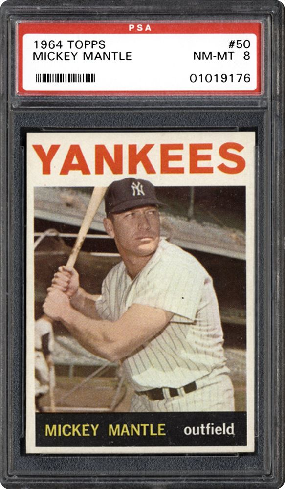 1964 Topps Mickey Mantle Psa Cardfacts