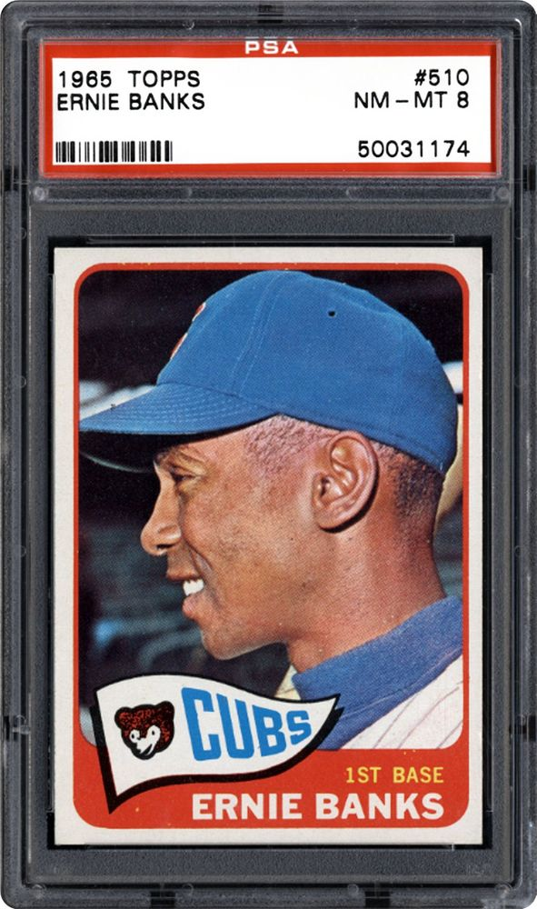 1965 Topps Ernie Banks Psa Cardfacts