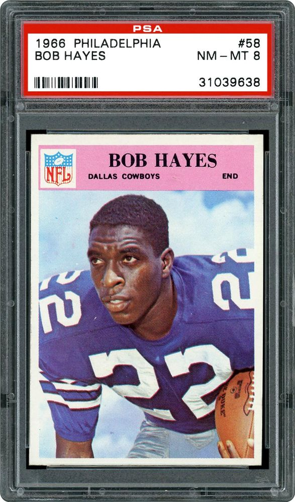 on sale fad09 63885 1966 Philadelphia Bob Hayes | PSA CardFacts™