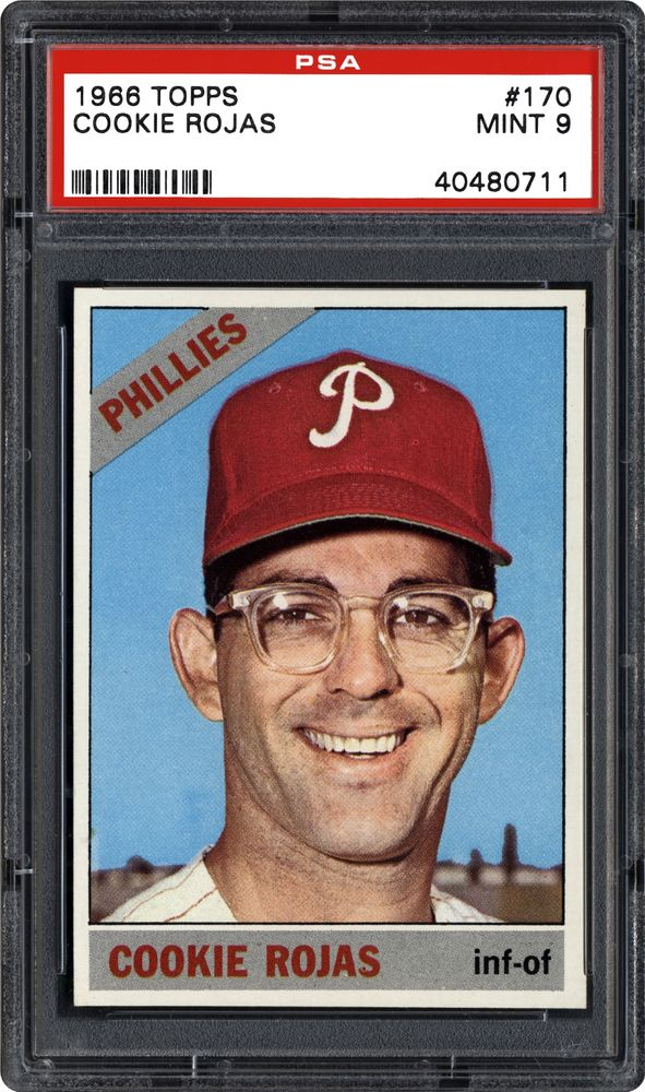 Auction Prices Realized Baseball Cards 1966 Topps Cookie Rojas