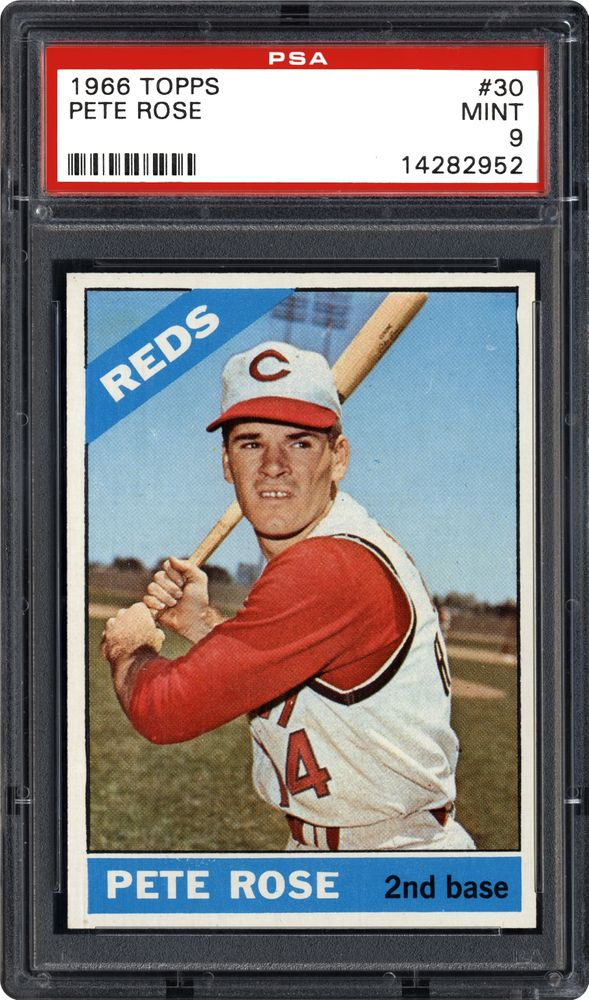 1966 Topps Pete Rose Psa Cardfacts