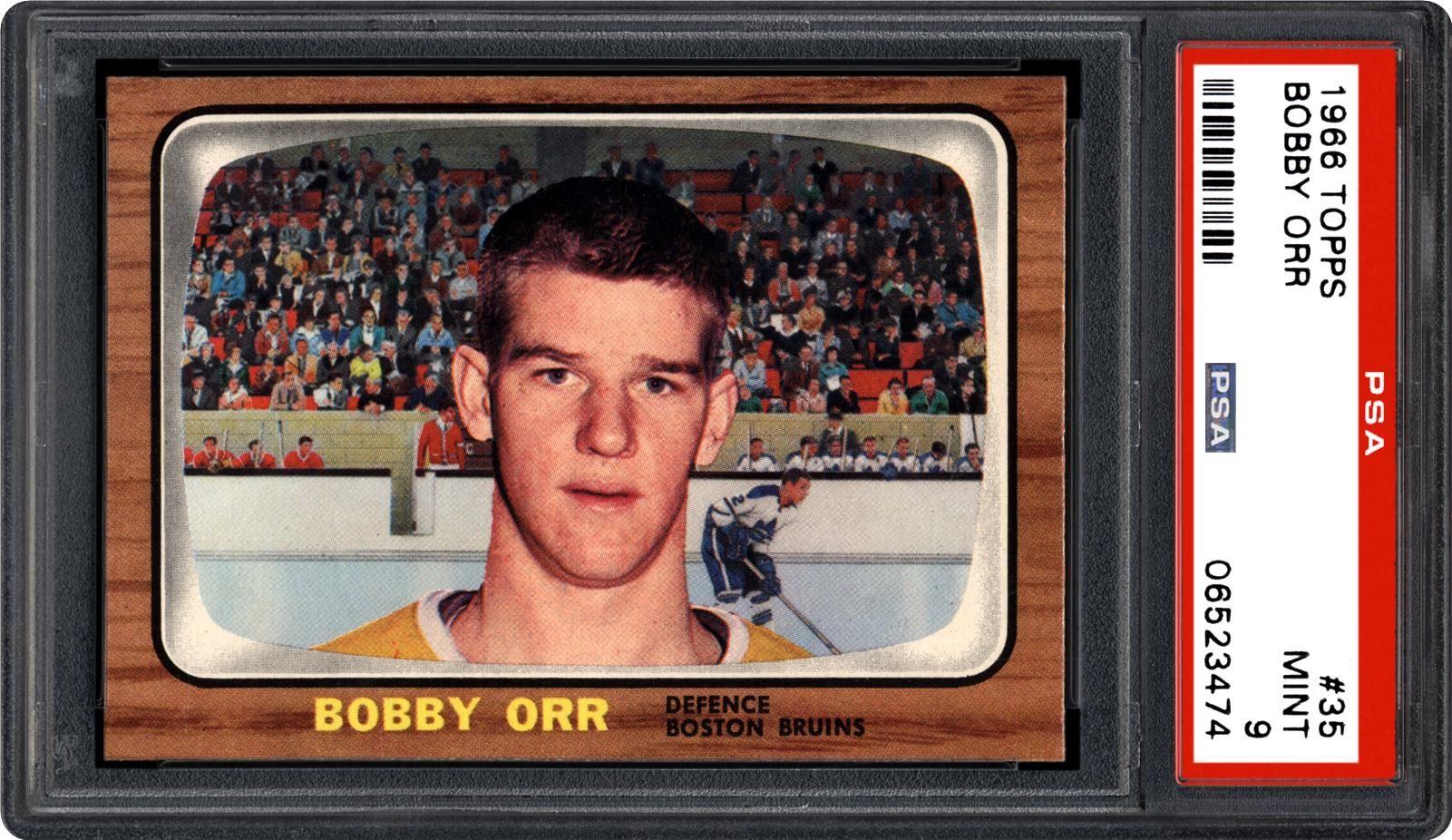 1966 Topps Bobby Orr Psa Cardfacts