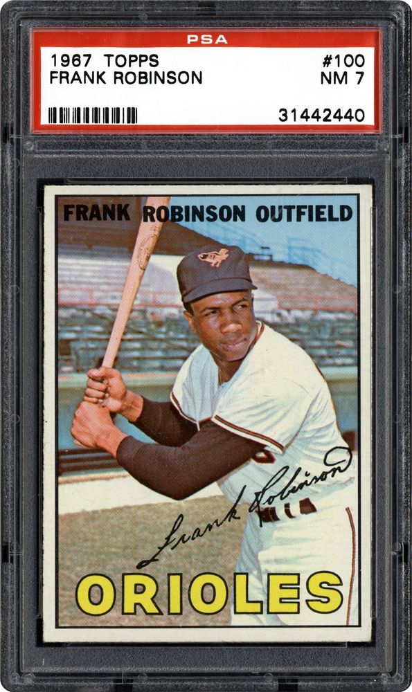 1967 Topps Frank Robinson Psa Cardfacts