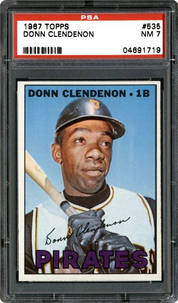 1967 Topps Donn Clendenon Psa Cardfacts