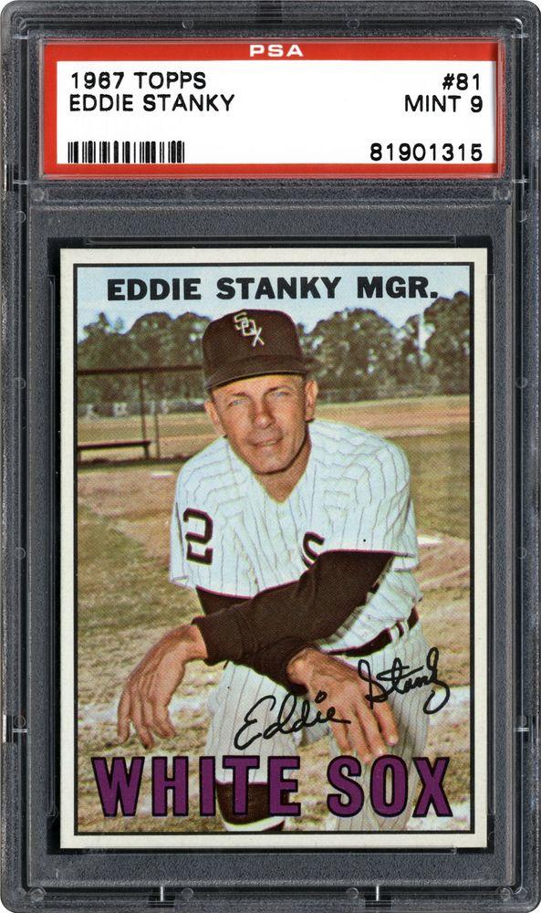 1967 Topps Eddie Stanky Psa Cardfacts