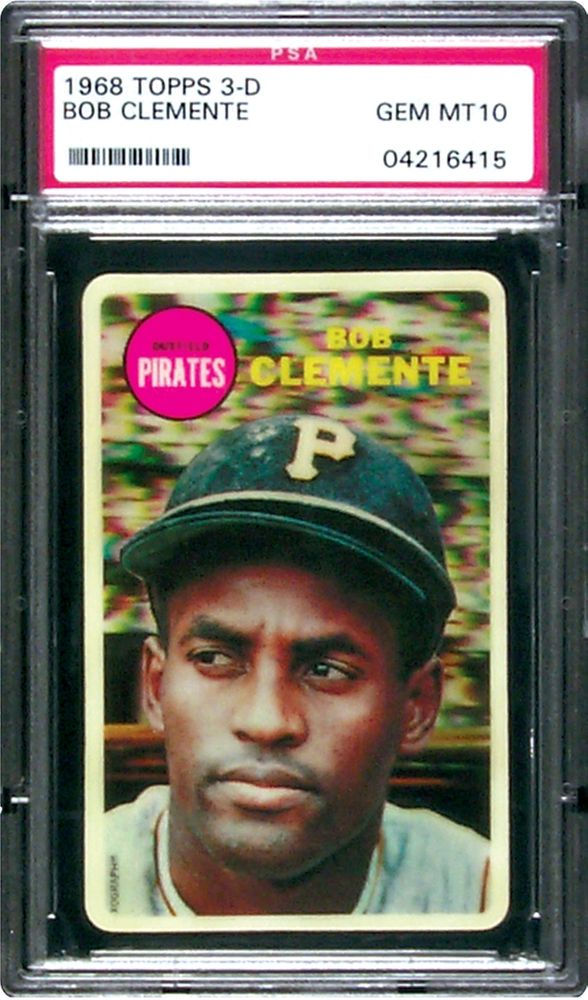 Baseball Cards 1968 Topps 3 D Psa Cardfacts