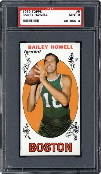 1969 Topps Bailey Howell | PSA CardFacts™