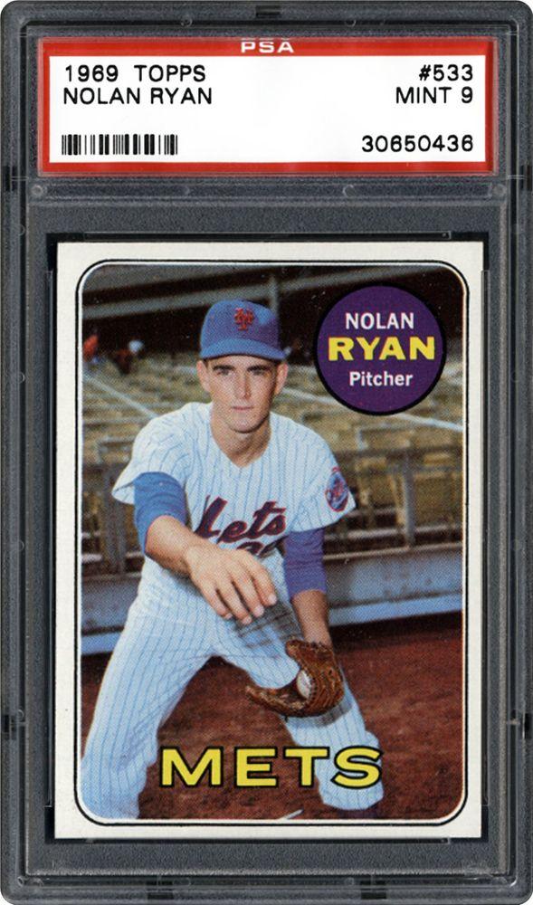 1969 Topps Nolan Ryan Psa Cardfacts