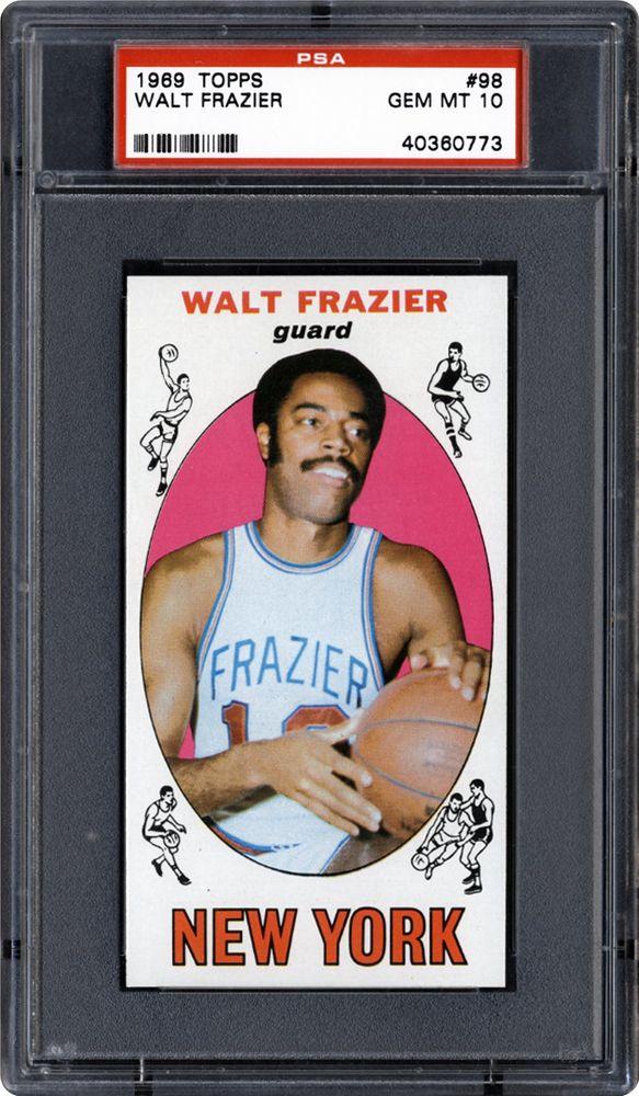 f0958308cd8 Walt Frazier - 1969 Topps