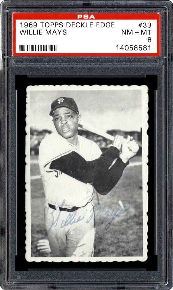 1969 Topps Deckle Edge Baseball Cards Psa Smr Price Guide