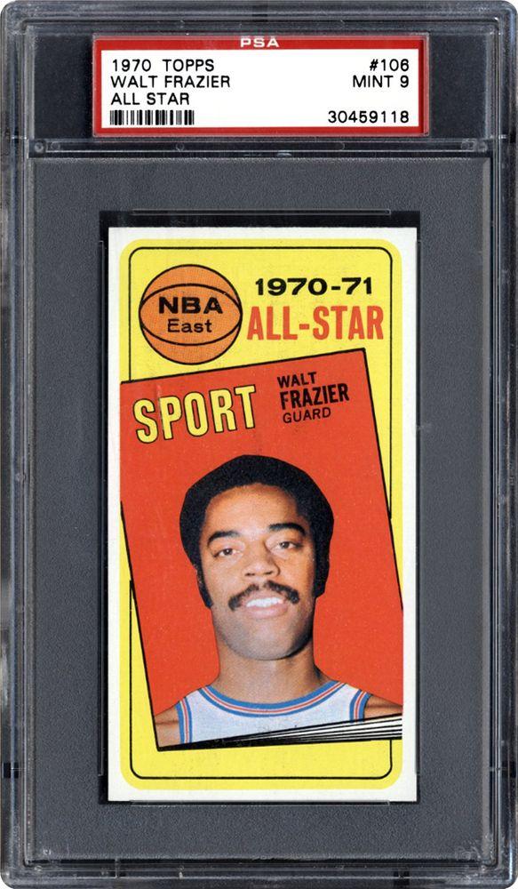 1970 Topps Walt Frazier (All Star) | PSA CardFacts™