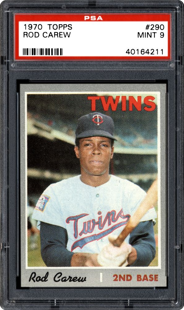 1970 Topps Rod Carew | PSA CardFacts™
