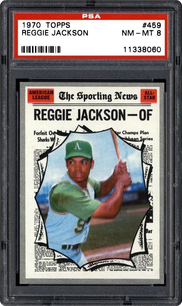 1970 Topps Reggie Jackson Psa Cardfacts
