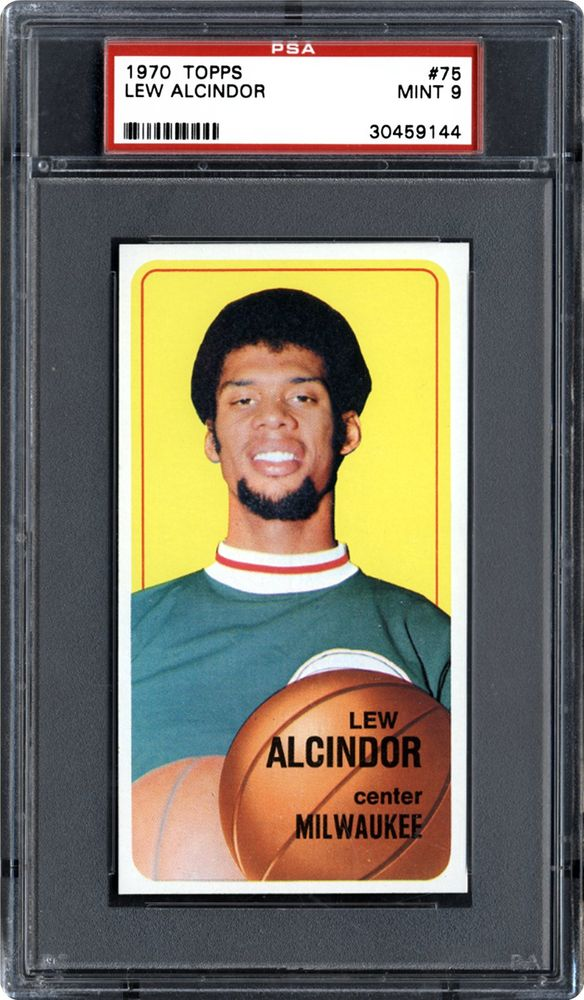 1970 Topps Lew Alcindor Psa Cardfacts