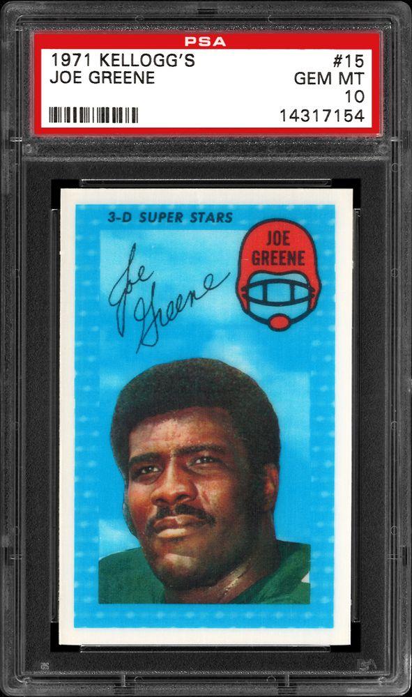 1971 Kelloggs Football Cards Psa Smr Price Guide