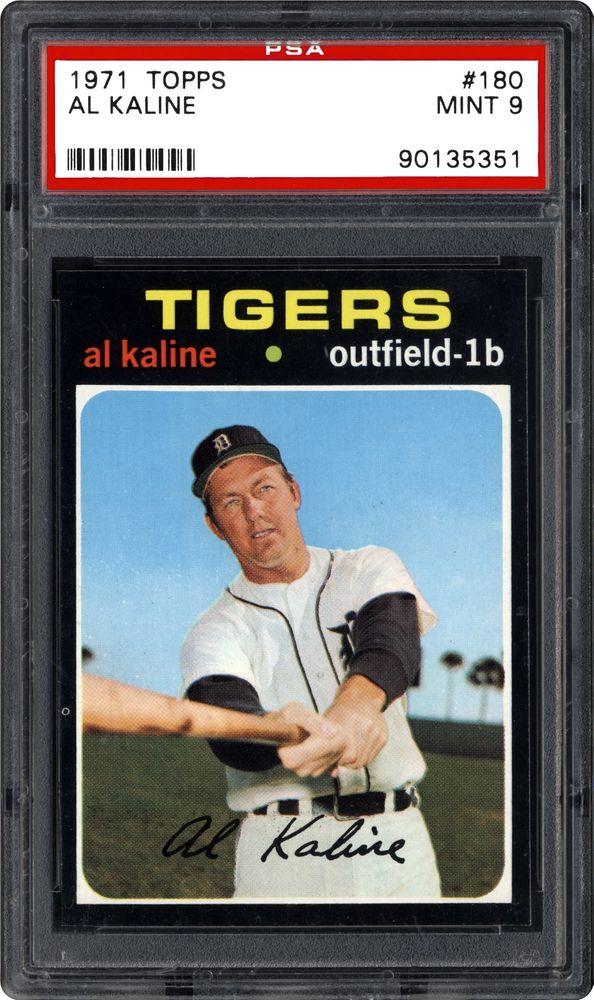 1971 Topps Al Kaline Psa Cardfacts