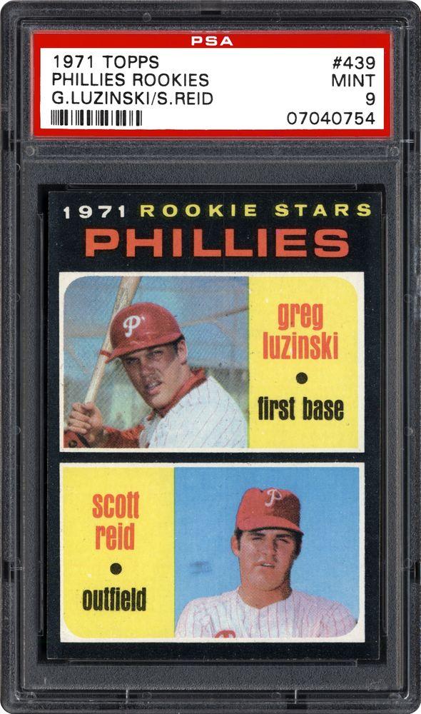 Ex.-Near Mint Baseball Cards Philadelphia Phillies 1976 Topps #610 Greg Luzinski