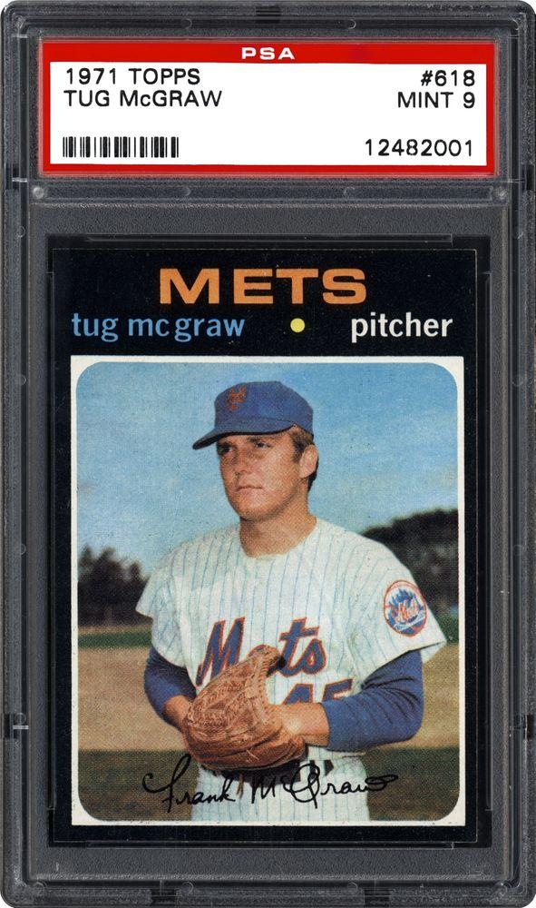 1971 Topps Tug Mcgraw Psa Cardfacts