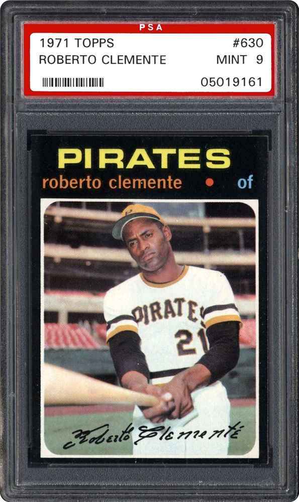 1971 Topps Roberto Clemente Psa Cardfacts